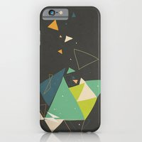 iPhone & iPod Case featuring Exploding Triangles//Six by Party in the Mountains