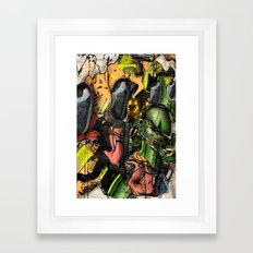 Working Class Hero Framed Art Print