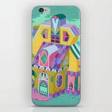 Yellow House iPhone & iPod Skin