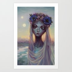 Dreams of Other Worlds Art Print