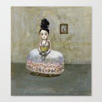 frida kahlos' grandgrandgrandmother Canvas Print