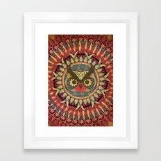 Vintage Owl Framed Art Print