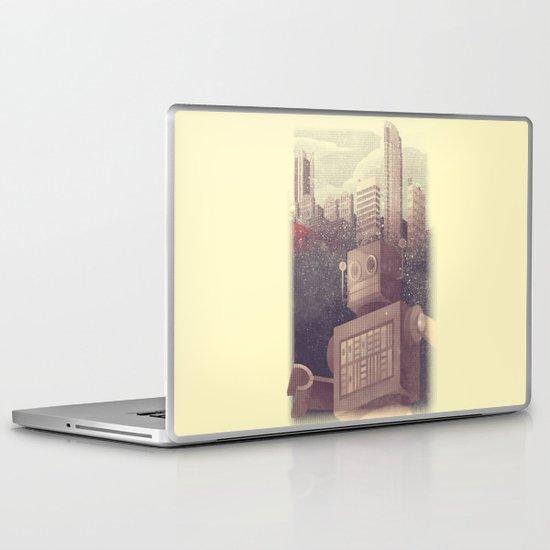 A City Snow-Bot Laptop & iPad Skin