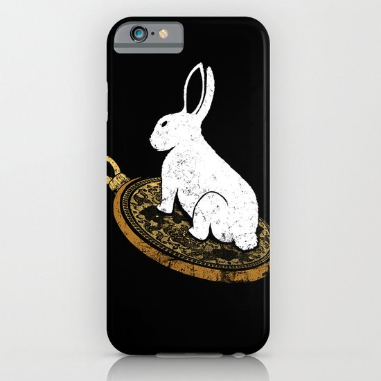 Follow The White Rabbit iPhone & iPod Case
