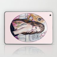Laptop & iPad Skin featuring It's Not Only Rock'n'rol… by Irina Kitova-Ogneva