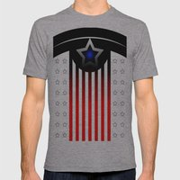 IAMTHEMANY Mens Fitted Tee Athletic Grey SMALL