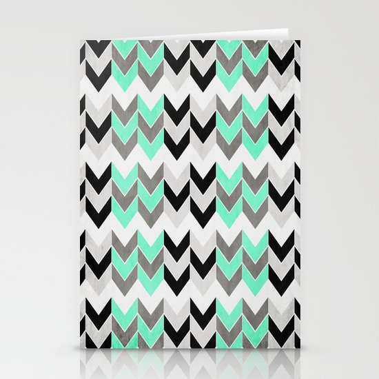 IceChevron Stationery Card