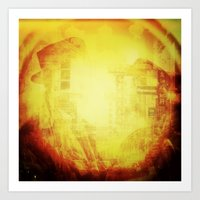 In These Final Hours Love Burns Strong Art Print
