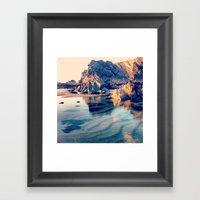 Crystal Clear, Beautiful… Framed Art Print