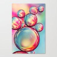 Rainbow Oil Drops II Canvas Print