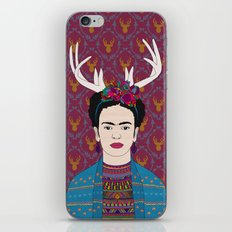 DEER FRIDA iPhone & iPod Skin