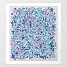 Emetophobia! (Chapter 1) Art Print