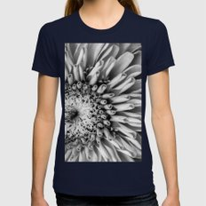 Where is Your Color, My Dear? Womens Fitted Tee Navy SMALL