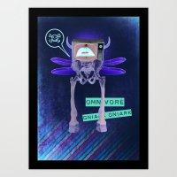 Omnivore Art Print