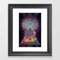 trww cythydryl Framed Art Print