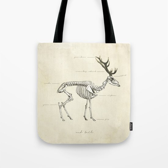 Death of the Red Tail Tote Bag