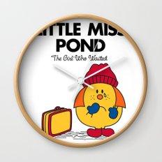 Little Miss Pond Wall Clock