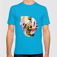 TVP Mens Fitted Tee Teal SMALL