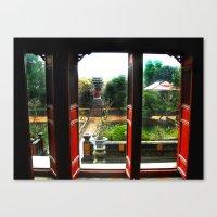 Buddhist Temple, Hue, Vi… Canvas Print