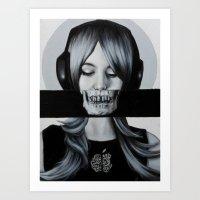 Consume Art Print