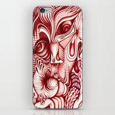 Sharp Senses & Soft Sensibilities iPhone & iPod Skin