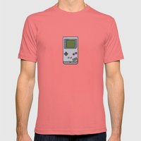 #44 Nintendo Gameboy Mens Fitted Tee Pomegranate SMALL