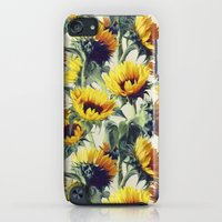 iPod Touch Cases featuring Sunflowers Forever by micklyn