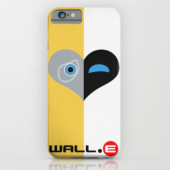 Wall-E Minimal Poster 01 iPhone & iPod Case