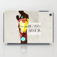 Suit of Armor : Iron Man iPad Case