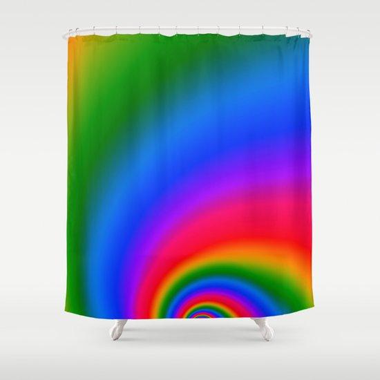 Magic Rainbow Shower Curtain