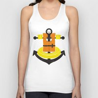 I Refuse To Sink Unisex Tank Top