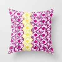 Deco Dance  Throw Pillow