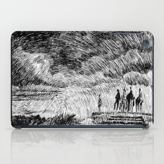 Storm - Ink iPad Case
