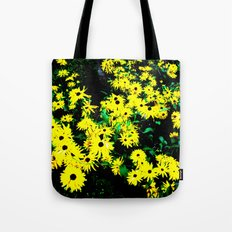 Yellow Flowers (Edited)  Tote Bag