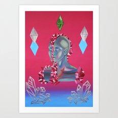 Crystallization Art Print