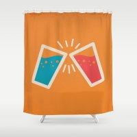 Cheers Shower Curtain