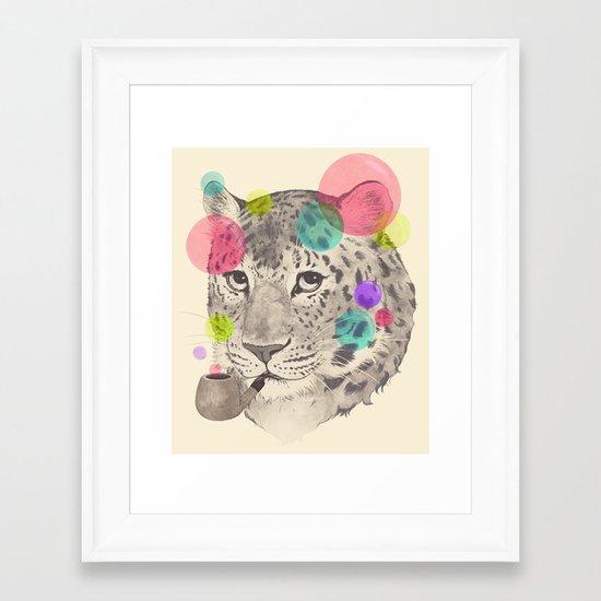 leopard changes his spots Framed Art Print