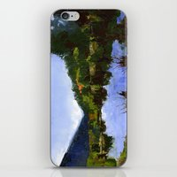Reflections On The Pond iPhone & iPod Skin