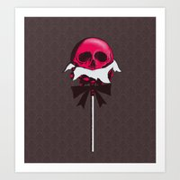 Sweet Death Art Print
