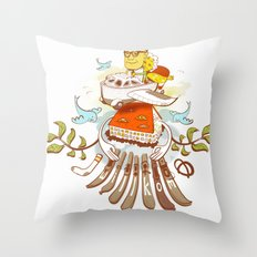 Making the Plans Throw Pillow