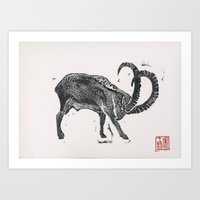 2015 Year Of The Goat Art Print
