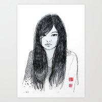 DanDan Art Print
