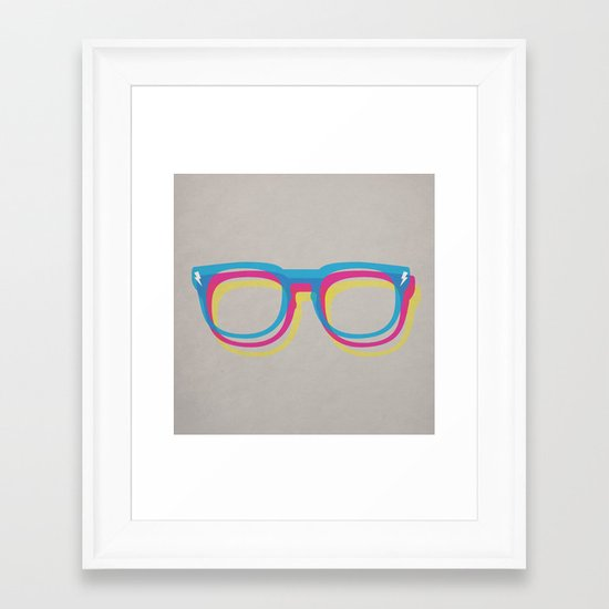 CMYgeeK Framed Art Print