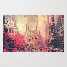 street of new york2 Rug
