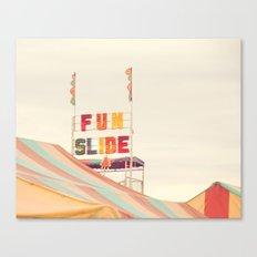 Fun Slide Canvas Print