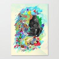 Hemisferios Canvas Print
