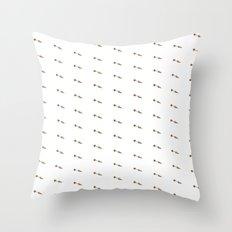 CARROT PATTERN Throw Pillow