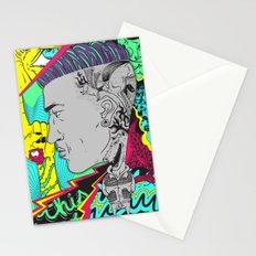 kiss my scalp Stationery Cards