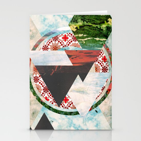 Experimental Abstraction Stationery Card
