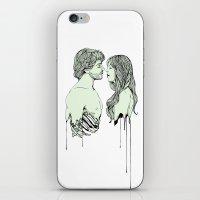 Naka-Choko iPhone & iPod Skin
